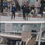 【マスコミ】テレビ局、通行人に許可なく勝手にカメラを向ける威圧的な街頭インタビュー(画像あり)