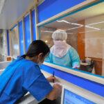 コロナ病棟担当の看護師が陽性患者と病院のトイレで濃厚な性行為