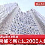 東京2000超え!