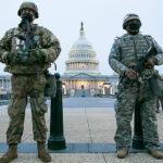 米首都警備の州兵ら、地下駐車場に寝かされる 批判殺到 兵士に敬意を表しているトランプ大統領とは真逆