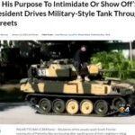 馬鹿が戦車でやって来る  アメリカ