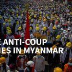 【画像】ミャンマー「デモ参加すれば命落とす」→もっと大規模に