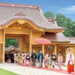 キ○ガイとキチ○イが新潟の神社で結婚式