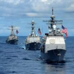 中国「おいアメリカ、台湾海峡に駆逐艦通過させて挑発してるのか やるのかコラ」