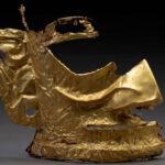 中国で「謎の文明」の黄金仮面を発見 3000年前の遺跡から出土