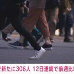 東京 306人 感染確認 (4月12日)