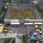 韓国の日本大使館前で海の葬儀、執り行われる。「日本は軽率、今後は刺身も食べられない」