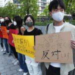「日本に住むチャンスを」 高校生ら、入管法改正案に抗議の訴え ・・外国人高校生が企画