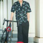 【動いたって清涼感】ファッション広告がまるで自転車泥棒だと話題に