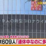 【東京】 609人感染確認 2021/05/04みどりの日