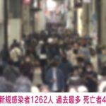 大阪 +1262人 記録更新 41人死亡 5/1