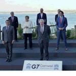 【似た者同士】韓国政府と日本のパヨク、仲良くG7の写真を加工・改変