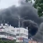 【速報】 中国、広東省の収容所とバイク置き場が爆発 動画あり