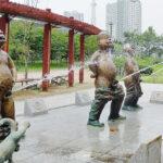 小便小僧の銅像…「芸術作品」VS「不適切」で論争中