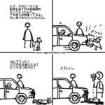 【悲報】ヴィーガン「肉食べるヤツの風刺画描きました」  [284093282]
