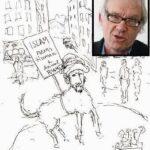 預言者ムハンマド風刺の漫画家、スウェーデンで自動車事故死  [156193805]